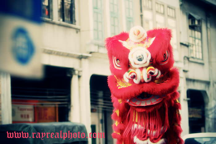 广州guangzhou Lion dance