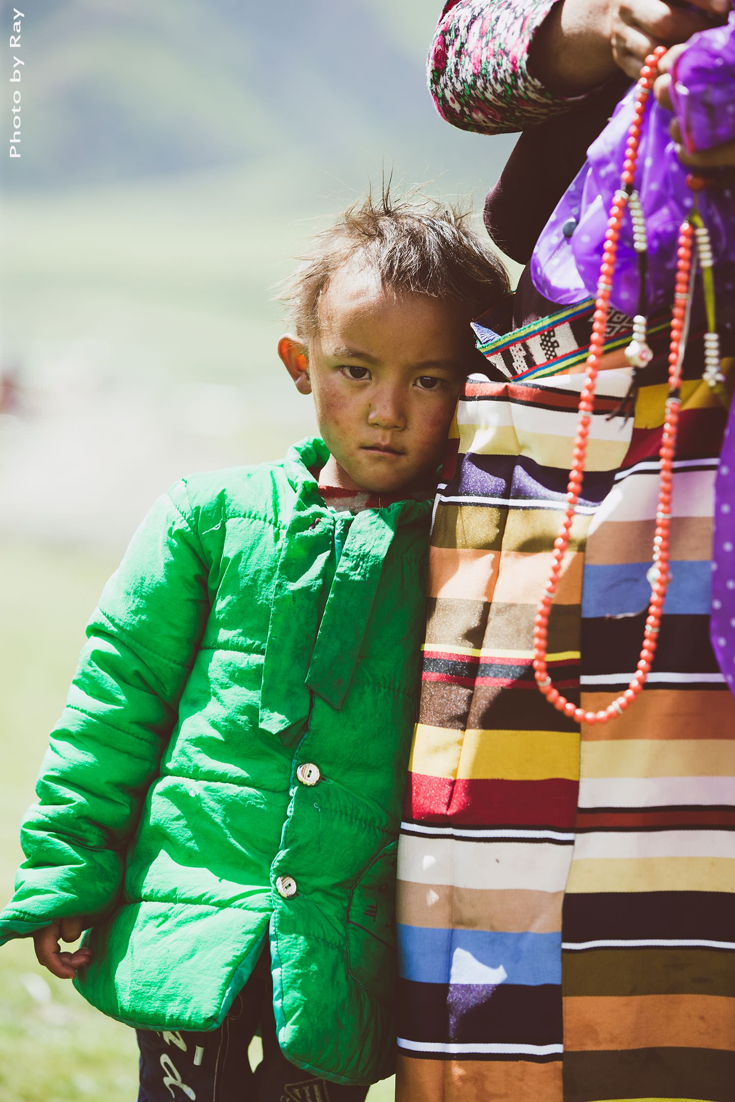 Tibet little boy